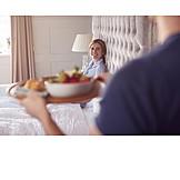 Bed, Breakfast, Morning, Wedding Anniversary