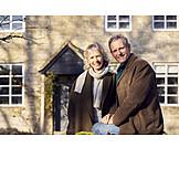 Happy, Portrait, Older Couple