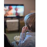 Watching Tv, Deaf