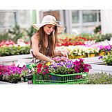 Shopping, Garden Center, Customer