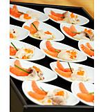 Prepared Fish, Appetizer, Appetizers