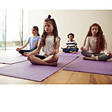 Childhood, Meditate, Yoga