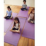 Yoga, Meditieren, Kinderyoga