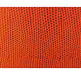 Orange, Snake Skin, Artificial Leather