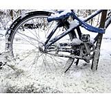 Bicycle, Snowed