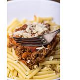 Macaroni, Bolognese, Pasta Dish