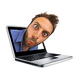 Eyes, Laptop, Home Office, Screen Work