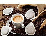 Coffee, Espresso, Coffee Pad