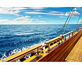 Sea, Sailboat