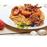 Seafood, Spaghetti