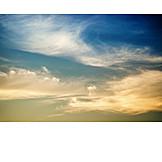 Twilight, Sky, Veil Clouds