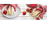 Asparagus, Strawberries