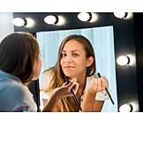 Make Up, Applying, Vanity Mirror