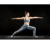 Yoga, Asana, Virabhadrasana I