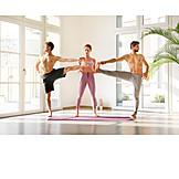 Yoga, Hilfestellung, Asana