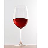 Rotwein, Rotweinglas