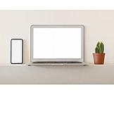 Display, Laptop, Smart Phone