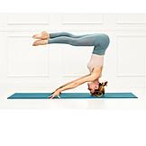 Yoga, Stability, Headstand, Asana