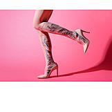 Fashion, Pattern, Nylon Tights
