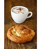 Pastries, Cappuccino