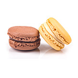 Chocolate, Vanilla, Almond Biscuits, Macaron, Macaroons