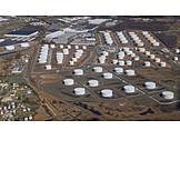 Industry, Oil Tank, Oil Refinery