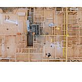 Wohnhaus, Bau, Neubau, Bauindustrie