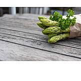 Asparagus, Green Asparagus, Parsley