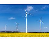 Wind Power, Pinwheel, Wind, Renewable Energy