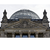 Reichstag building, Glass dome