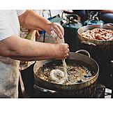 Preparation, Frying