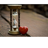 Love, Time, Impermanence, Hourglass