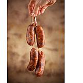 Smoked, Sausages, Sausage