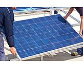 Solar Cells, Installation, Solar Energy, Solar Technology