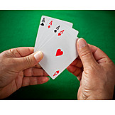 Cards, Spades, Diamond, Heart, Cross, Ace