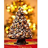 Nuts, Chocolate, Christmas Tree