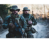 Team, Army Soldier, Camouflage Clothing