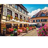 Gastronomy, Old Town, Strasbourg