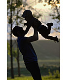 Silhouette, Son, Tossing Up