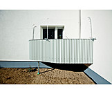 Domestic Life, Balcony, First Floor
