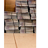 Recycled Paper, Paper Stack, Journals