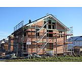 Building Construction, Construction Site, Housing