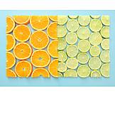 Orange, Lemon