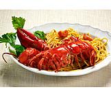 Lobster, Pasta