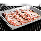Preparation, Baking Sheet, Bacon