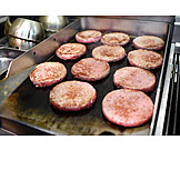 Preparation, Burger, Beef