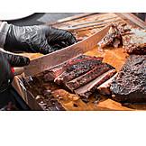 Cutting, Barbecue