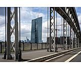 Frankfurt, European Central Bank, Bridge
