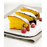 Dessert, Piece Of Cake, Sponge Cake