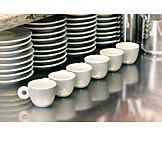Gastronomy, Coffee Cup, Saucer